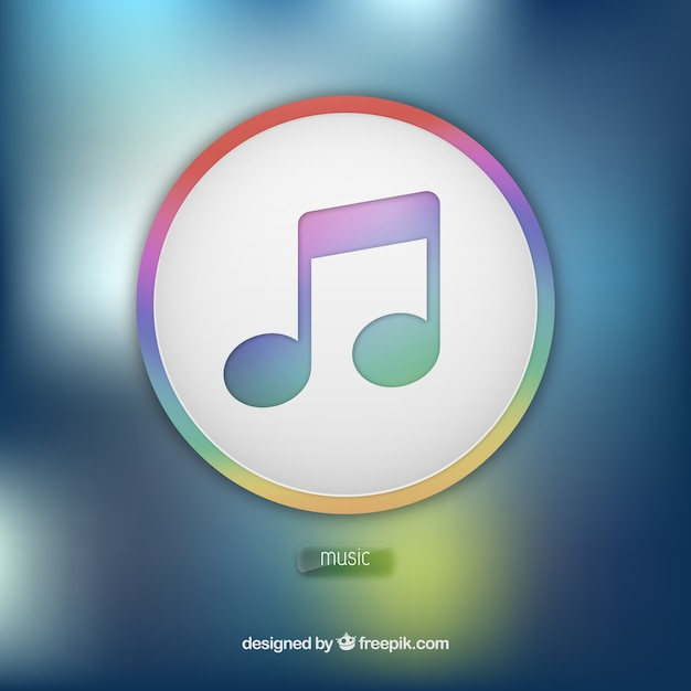 Itunes icon app Vector | Free Download