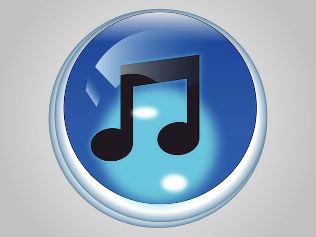 Itunes Music App Icon Vector Vector Free Download