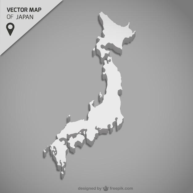 Japan Map Vector Free Download - Japan map vector free download