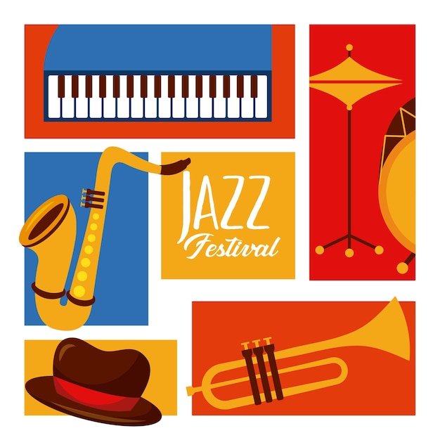 Jazz festival poster music event invitation vector premium download jazz festival poster music event invitation premium vector stopboris Choice Image