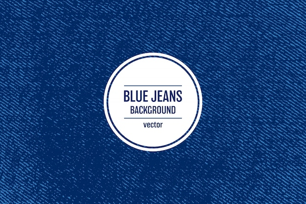 Jeans texture background   illustration Premium Vector