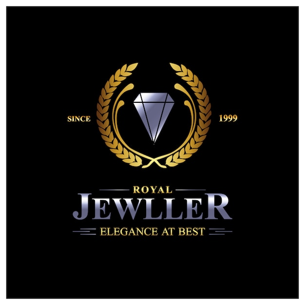 jewelry logo background vector free download