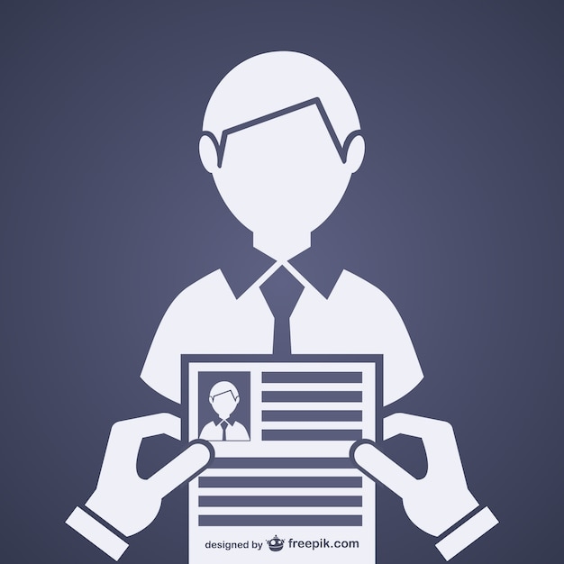 Job interview vector Free Vector