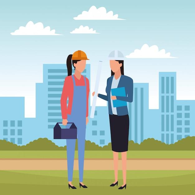 Jobs and professions avatar Premium Vector