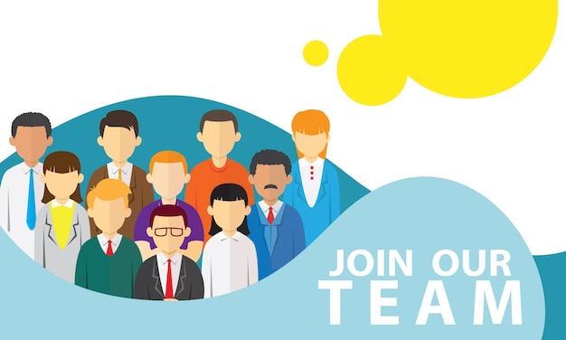 Join our team Premium Vector