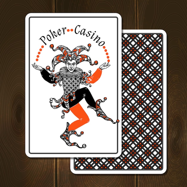 Joker Cards Realistic Illustration Vector Free Download