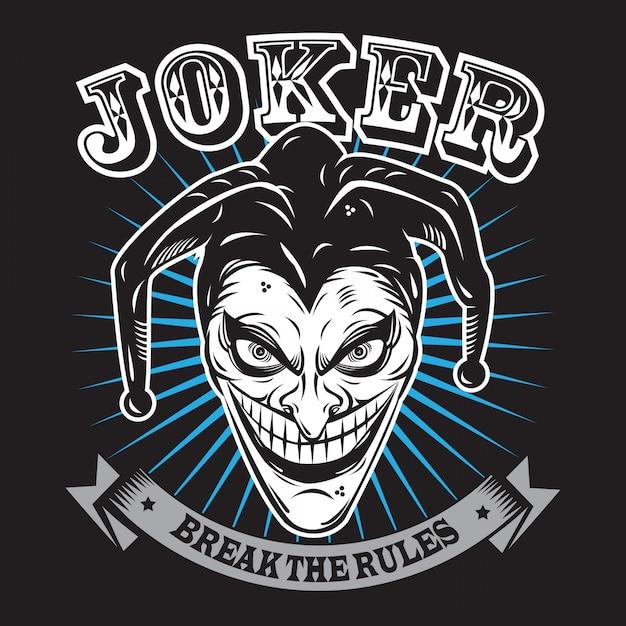 Joker Premium Vector
