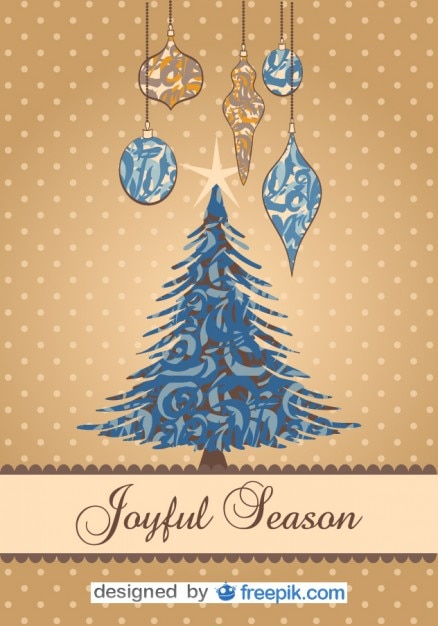 Joyful Season, Christmas Postcard