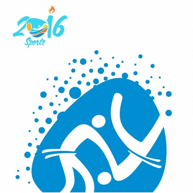 Judo rio olympics icon Free Vector