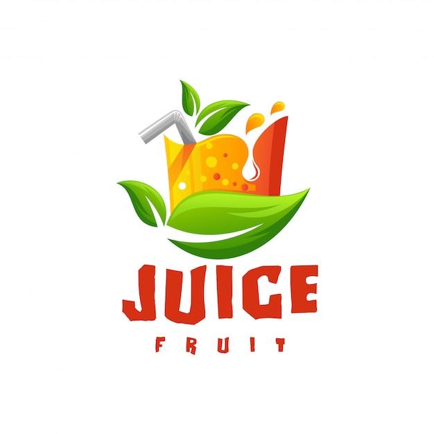 Juice logo vector Vector   Premium Download