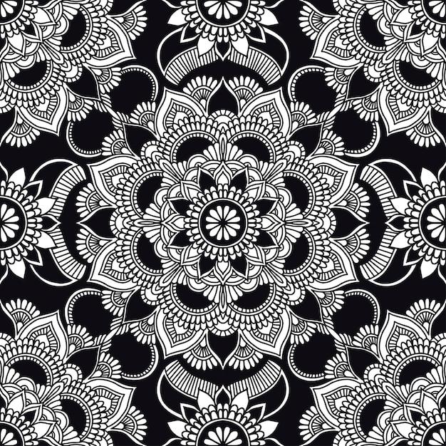 Kaleidoscope pattern Premium Vector