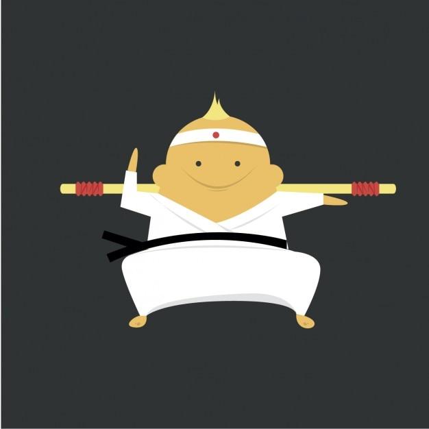 Karate expert icon