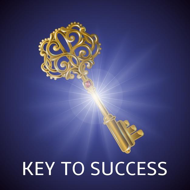 成功の鍵 無料ベクター