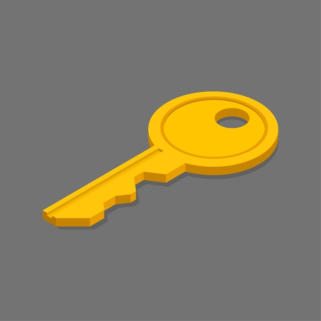 Key Free Vector
