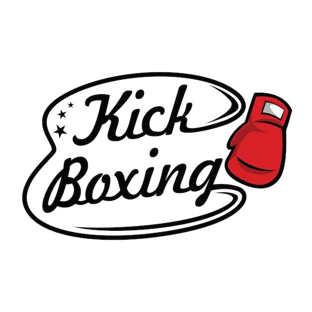 kick boxing and martial arts logo vector premium download rh freepik com boxing logos vectors boxing logo shirts
