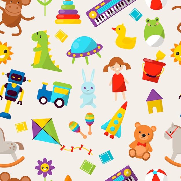 Kid toys illustration cartoon cute graphic play childhood ...