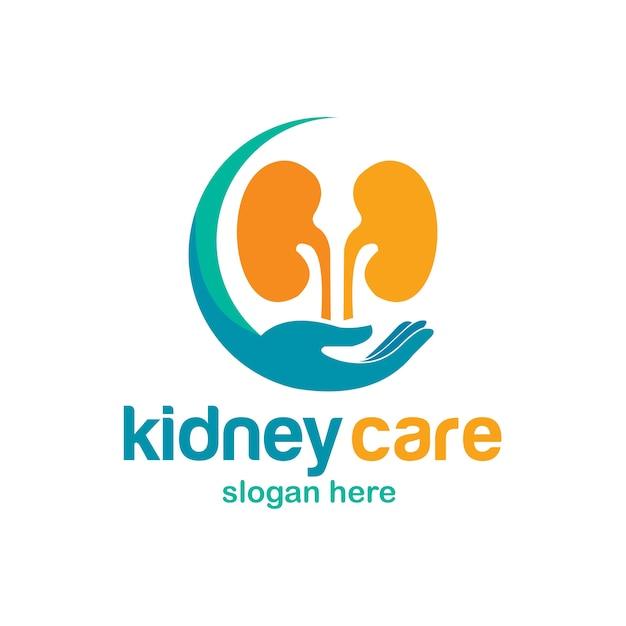 Kidney logo Premium Vector