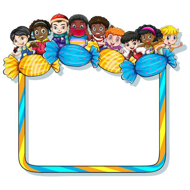 Frame for kids pictures