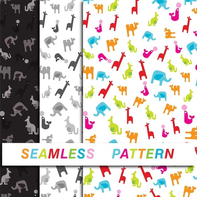 Kids toy seamless pattern Premium Vector