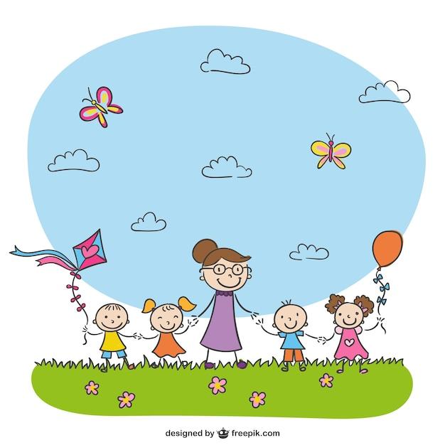 kindergarten drawing - Pictures For Kindergarten