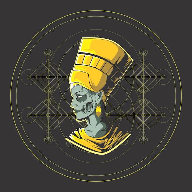King egypt Premium Vector