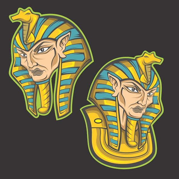 King of egypt Premium Vector