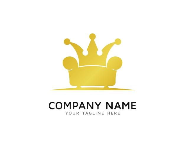 furniture logo. Simple Furniture King Furniture Logo Design Premium Vector On N