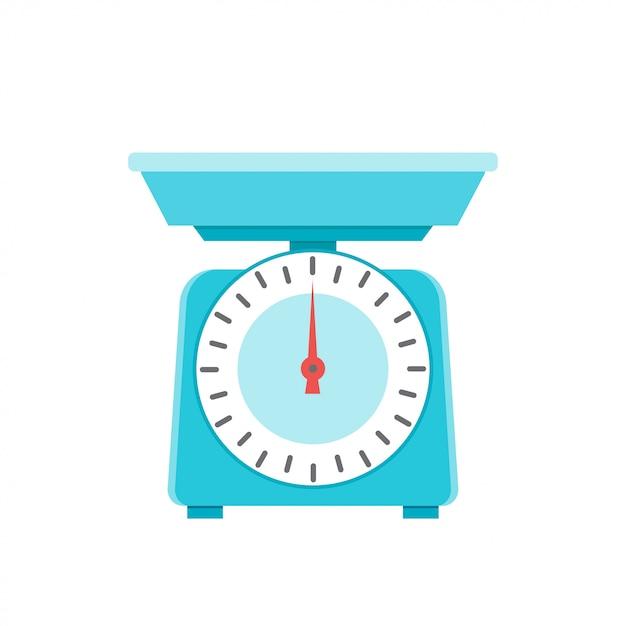 Кухонные весы Premium векторы