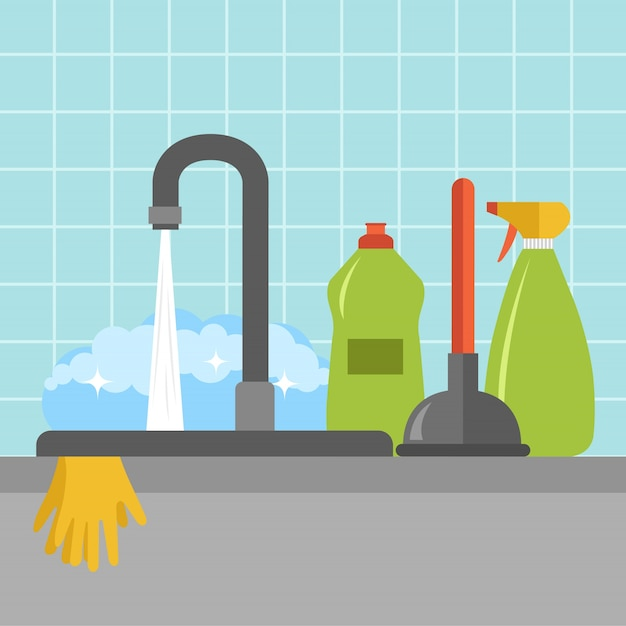 Kitchen sink icon Free Vector