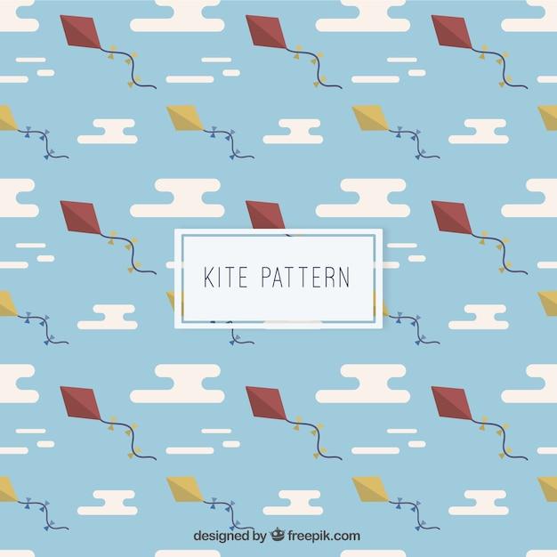 Kite Pattern Vector Premium Download Gorgeous Kite Pattern