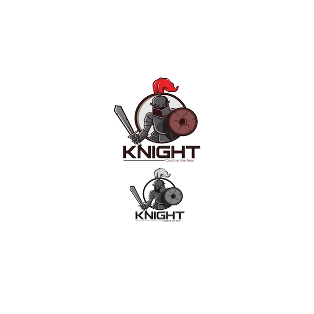 Рыцарь Premium векторы