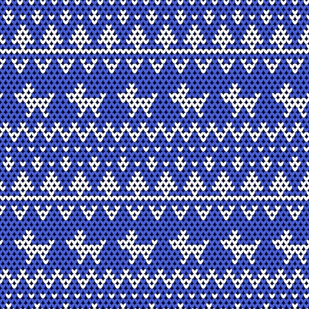 Christmas Sweater Background.Knitted Christmas Sweater Background Vector Premium Download