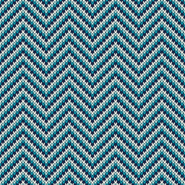 Knitted sweater pattern. seamless background. wool knit texture imitation Premium Vector