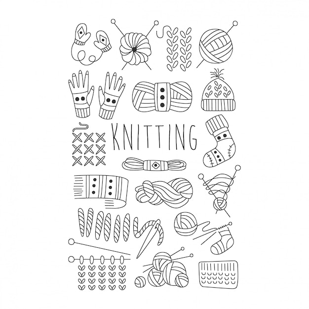 Knitting Needles Images Free Vectors Stock Photos Psd