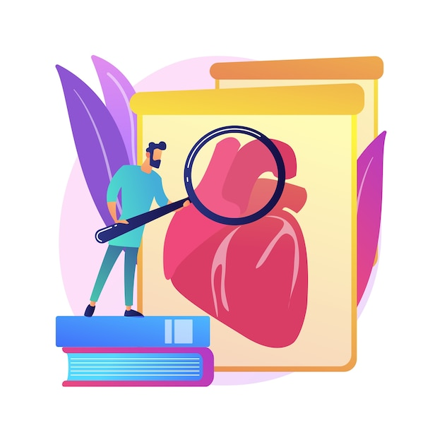 Lab-grown organs abstract concept  illustration. laboratory-grown stem cells, bioartificial organs, artificial human body parts, growing transplant in lab, bio-engineering . Free Vector