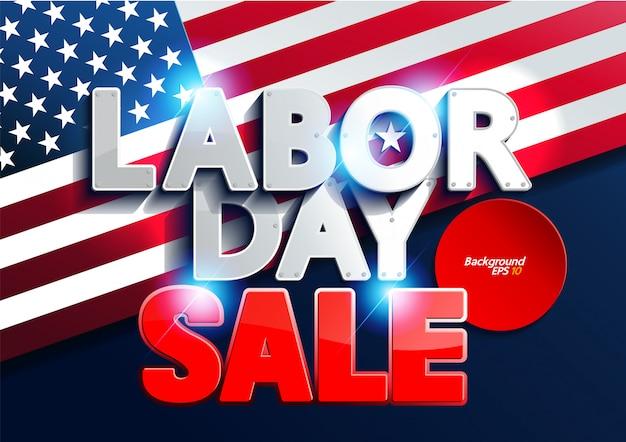 Labor day sale Premium Vector
