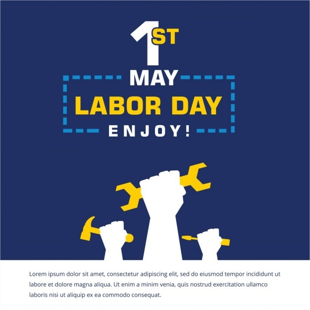 Labor day template