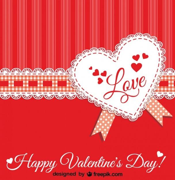 Lace Design Valentine S Day Design Vector Free Download