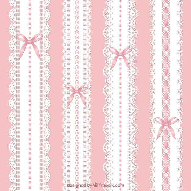 Lacy decoration Free Vector