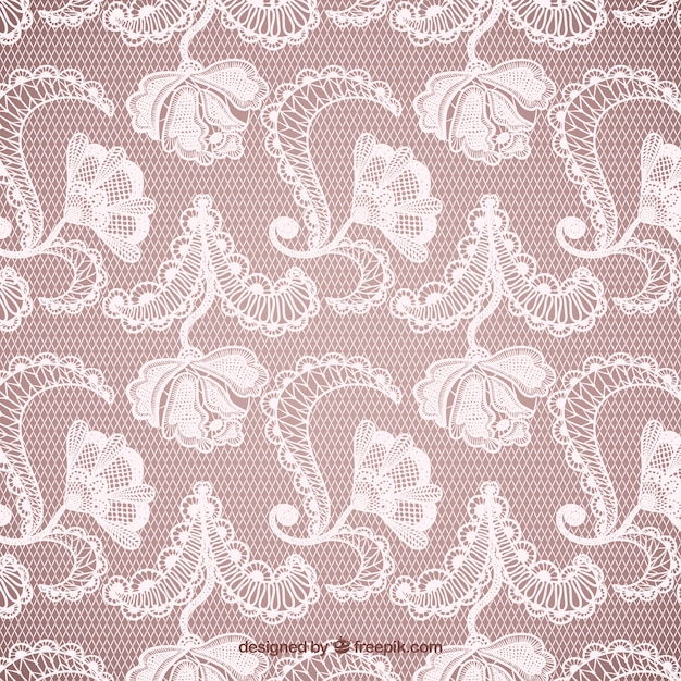 Lacy pattern Free Vector
