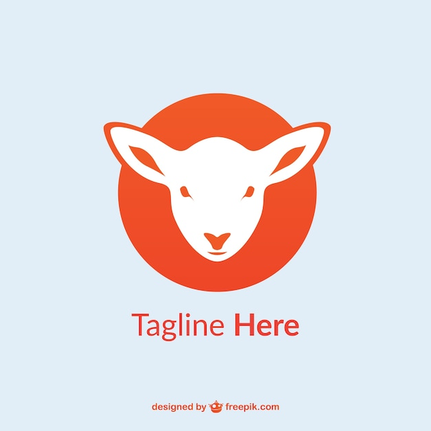 Lamb logo template Vector | Free Download