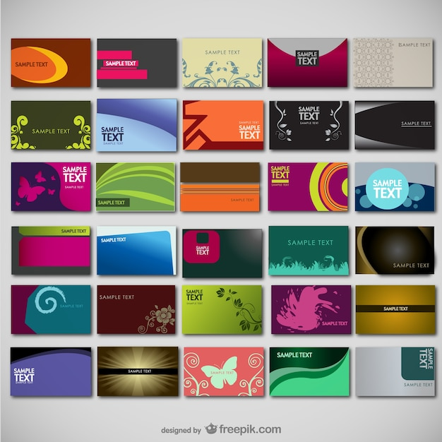 Large collection of card templates vector free download for Jumbo postcard template