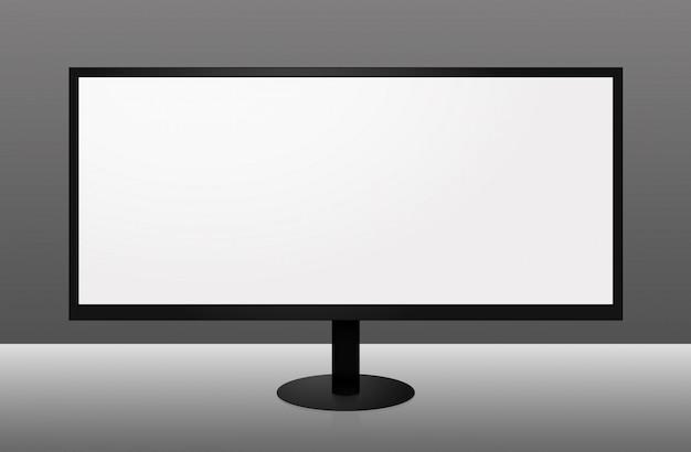 Широкоформатный монитор Premium векторы