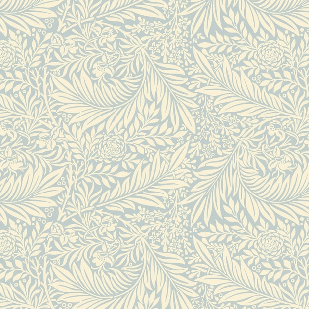 Larkspur by william morris Free Vector