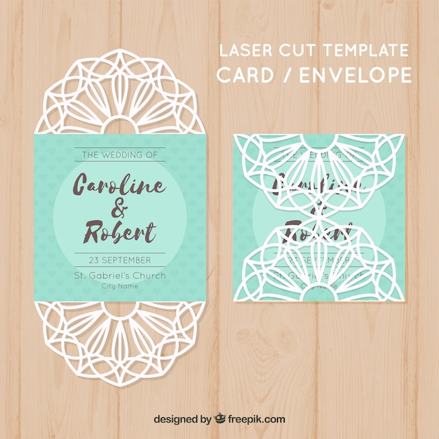 Laser cut template with envelope vector free download laser cut template with envelope free vector stopboris Images