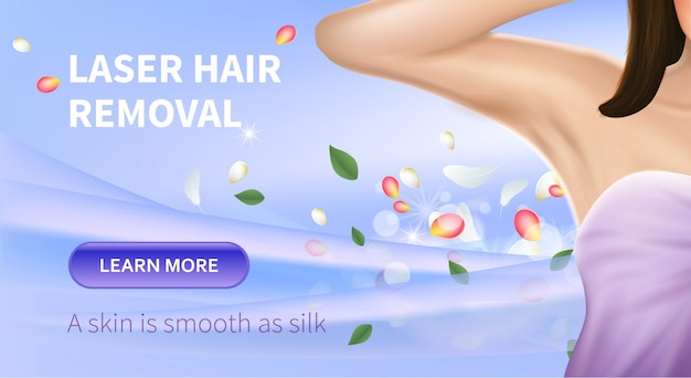 Laser hair removal procedure