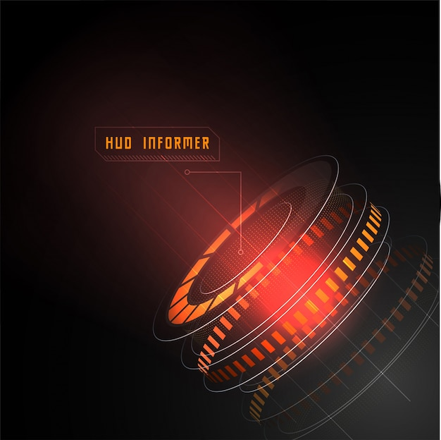 Laser Light Symbol Technology Science Vector Premium Download