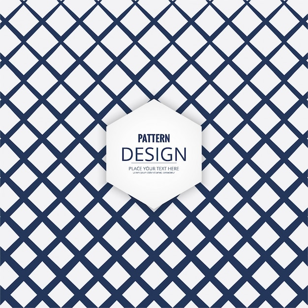 Lattice style geometric pattern Free Vector