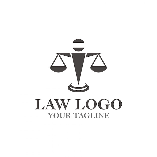 Law attorney logo Vector | Premium Download