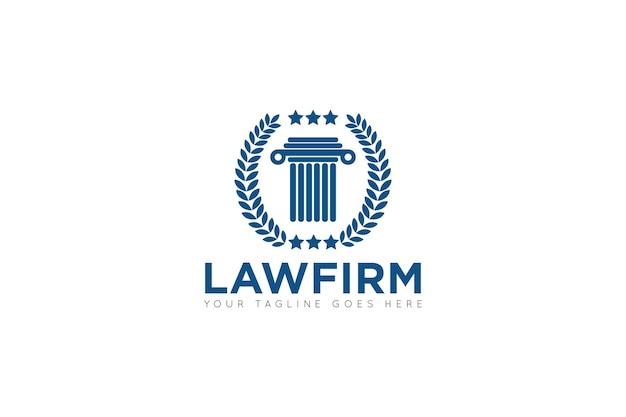 Law firm logo, icon, symbol template Vector | Premium Download